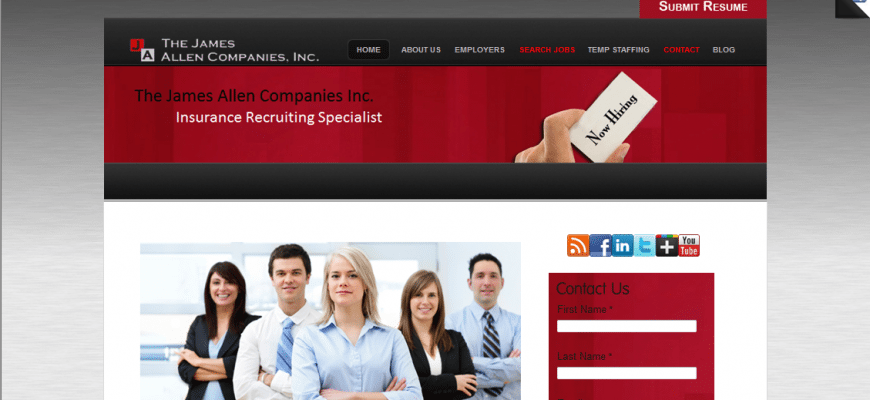 web designs for recruiters