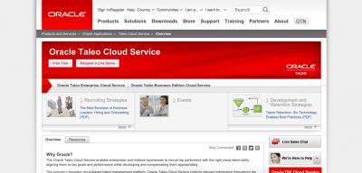 Oracle Taleo  Recruiting Software Oracle Taleo e1435010123238