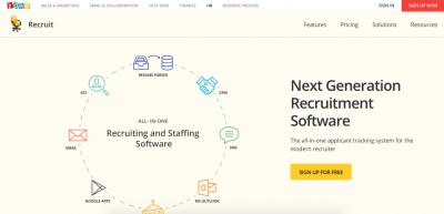 Zoho Recruit  Recruiting Software Zoho Recruit e1435009952105