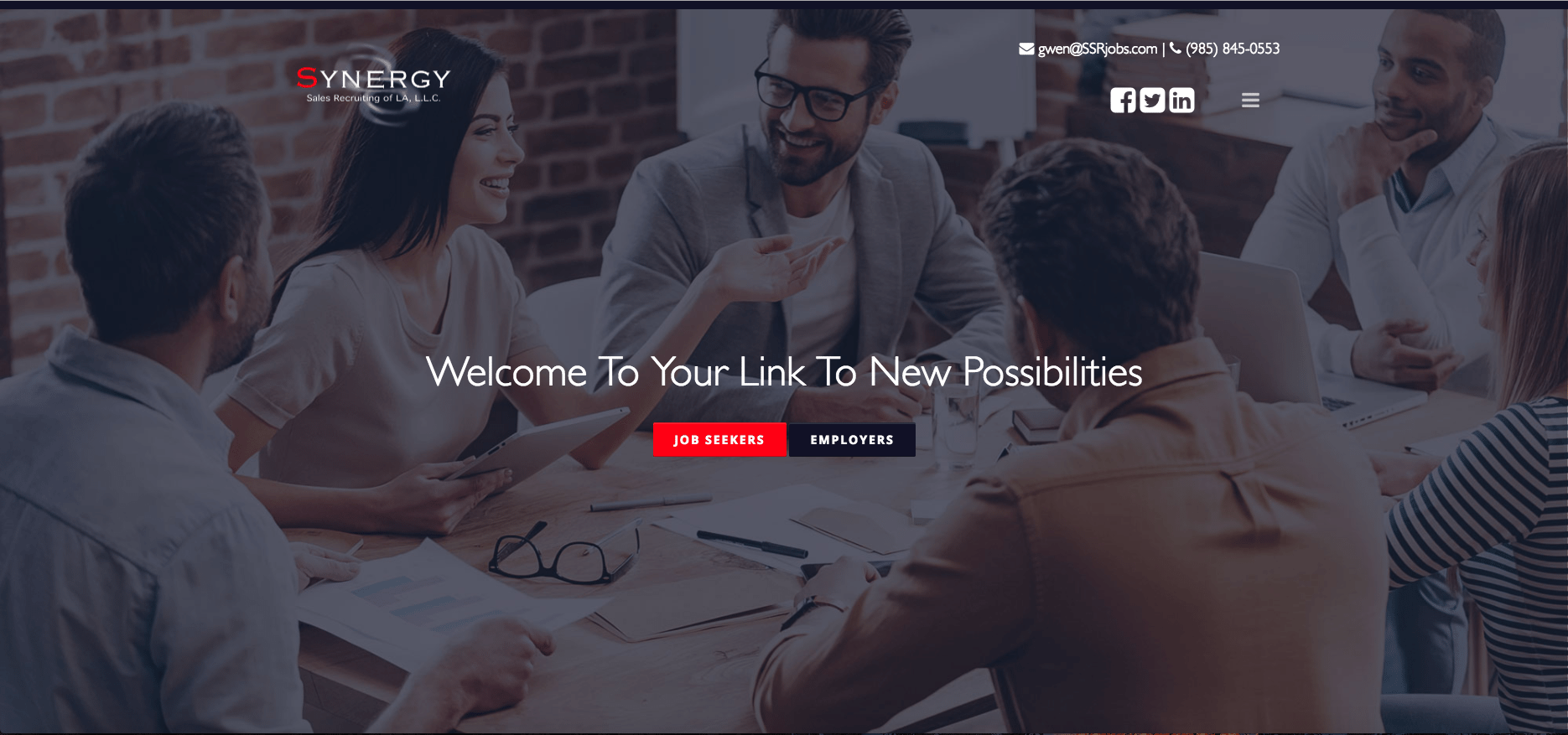 synergy s recruiting of la llc recruiters websites