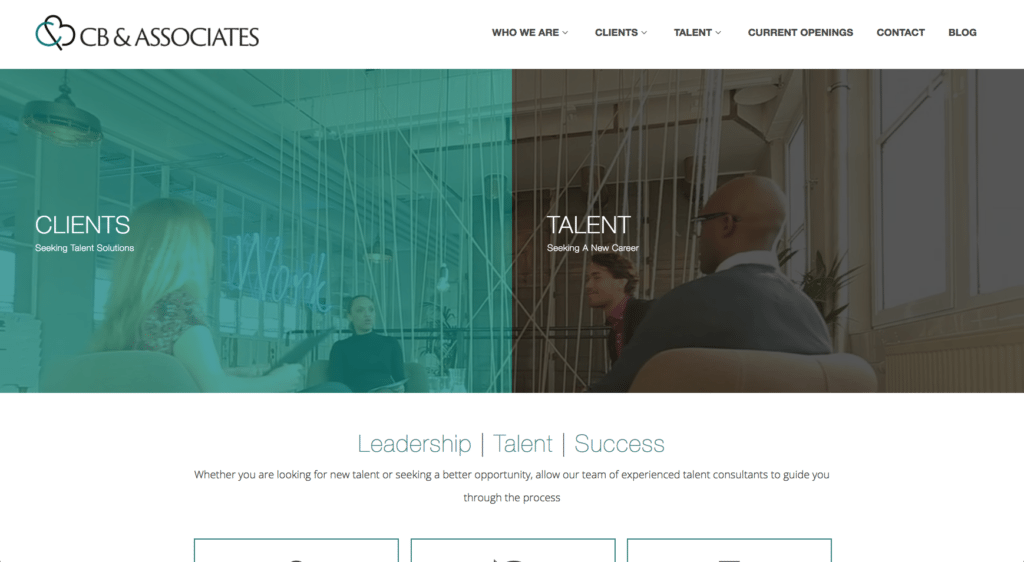 Cb Associates Website