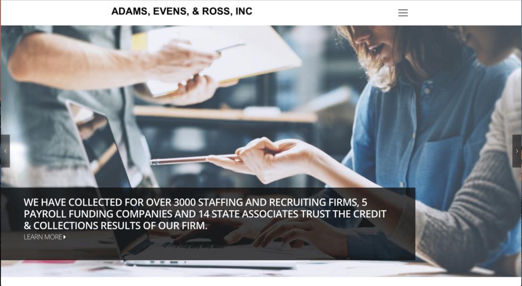 Adams, evens, & Ross