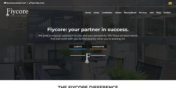 Fiycore Staffing Screenshot