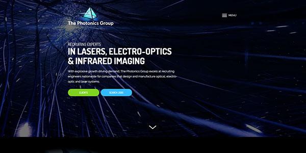 The Photonics Group Screnshot