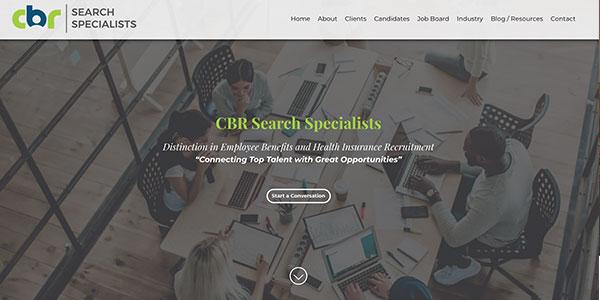 CBR Search Specialists screenshot