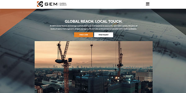 GEM Global Search Featured Screen