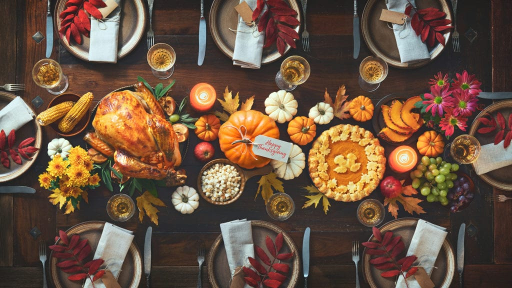 Recruiters Websites Thanksgiving Message