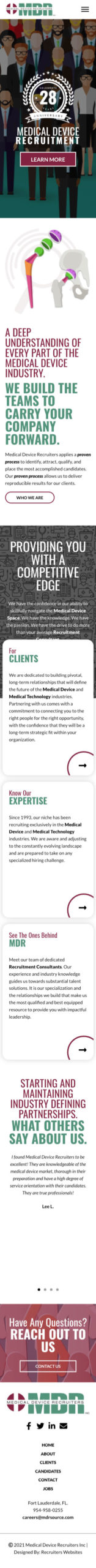 Medical Device Recruiters, Inc.